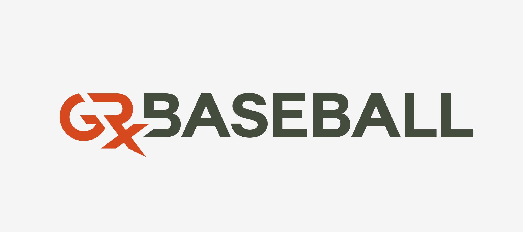 GRx Baseball Logo Design