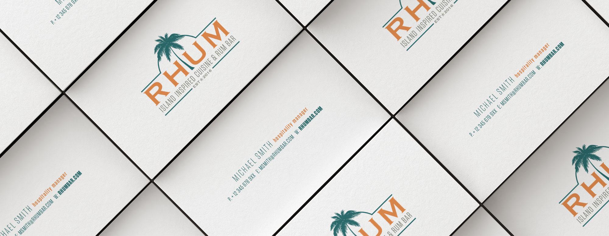 Rhum Bar Branding