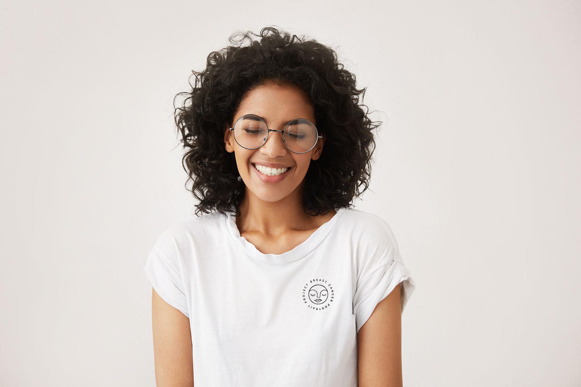 Breast Cancer Portrait Project Shirt Design