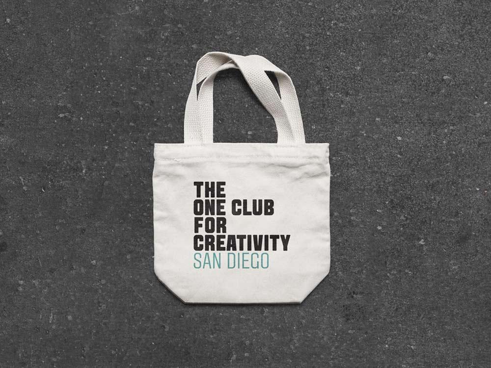 One Club for Creativity San Diego Logo