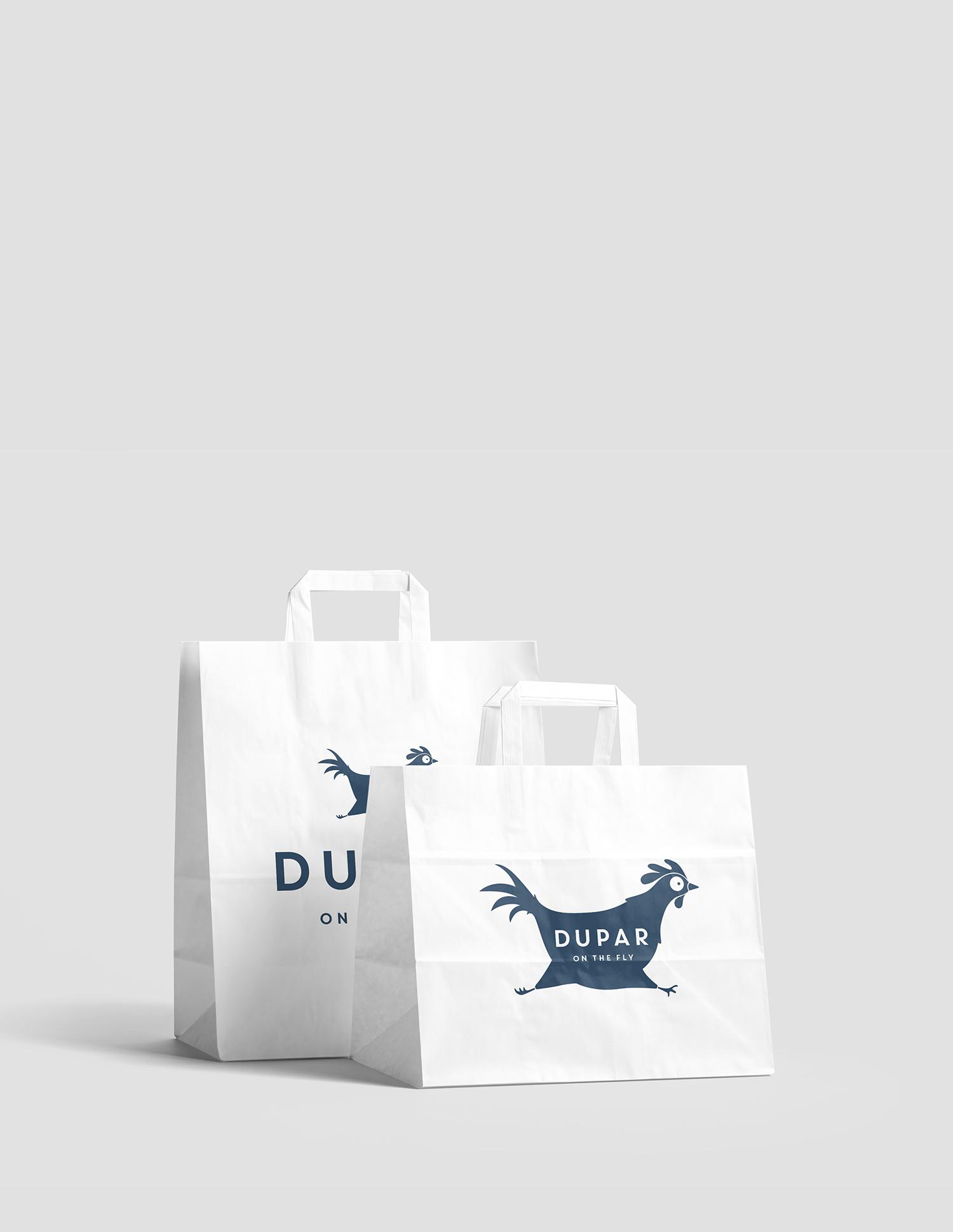 Logo Design | Dupar on the Fly | Catering