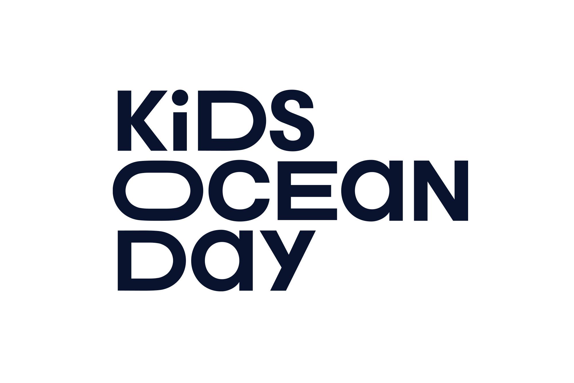 Kids Ocean Day Logo Design